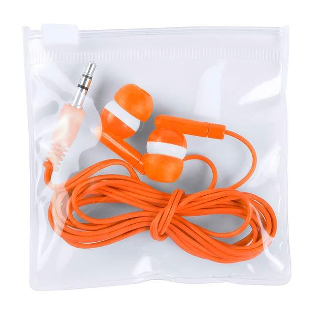Celter sluchátka - oranžová