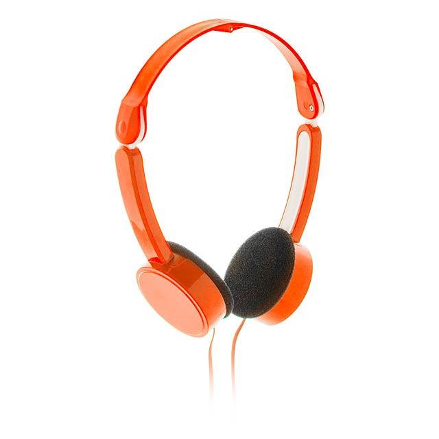 Heltox sluchátka - oranžová