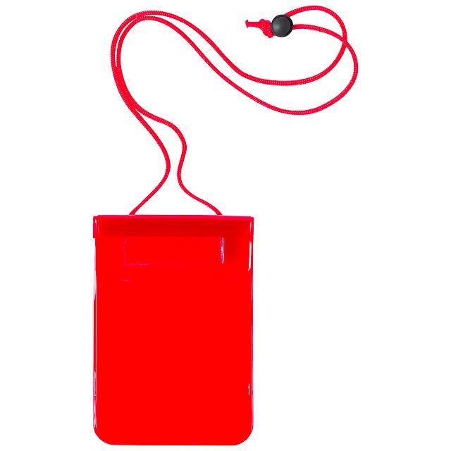 Arsax voděodolný obal na mobil - červená