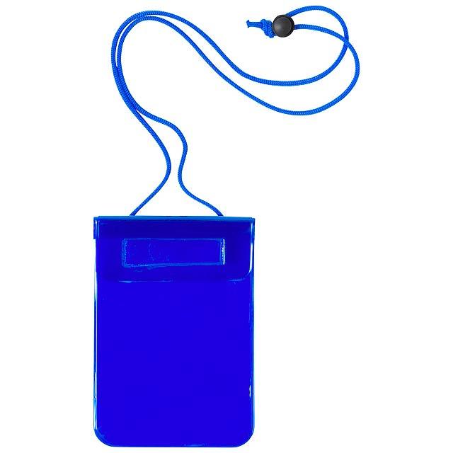 Arsax voděodolný obal na mobil - modrá