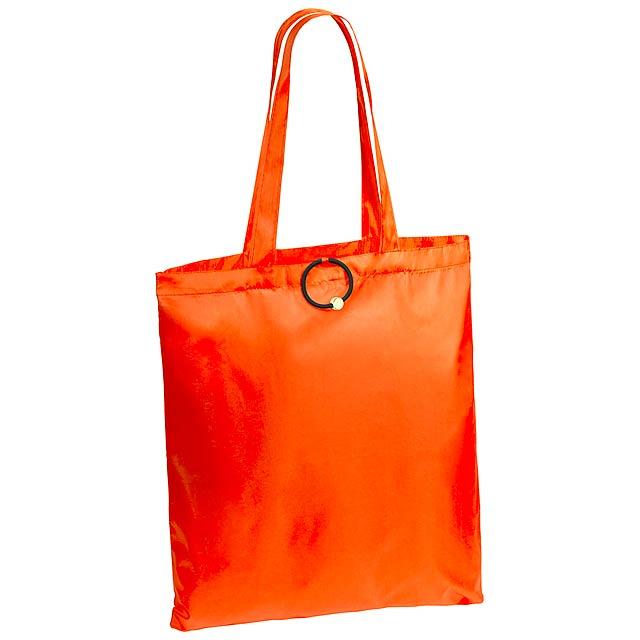 Conel skládací nákupní taška - oranžová