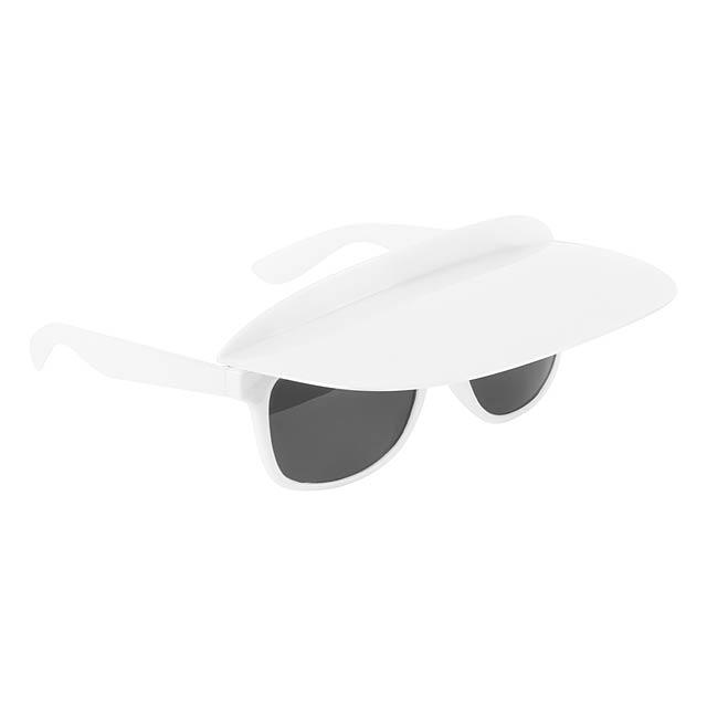 Galvis sluneční brýle - bílá