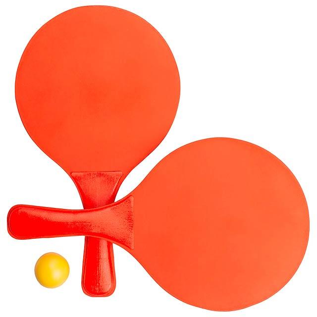 Faluk plážový tenis - oranžová