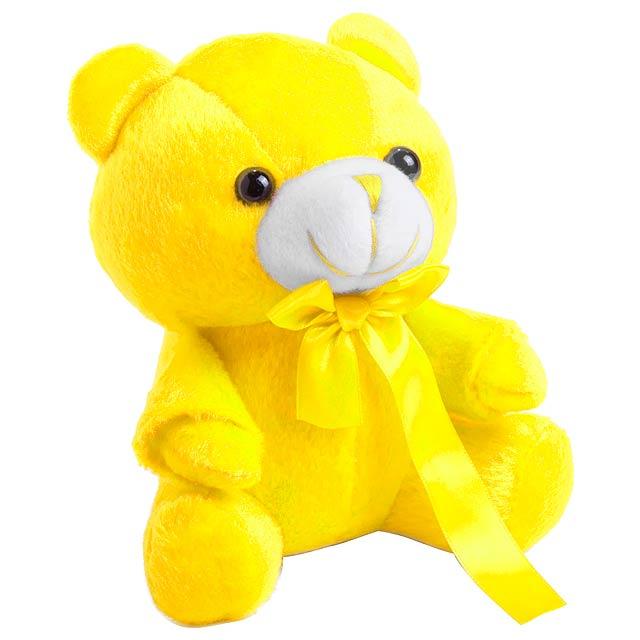 Arohax plyšový medvídek - žlutá