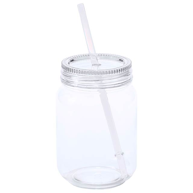 Sirex kelímek na pití - transparentní bílá