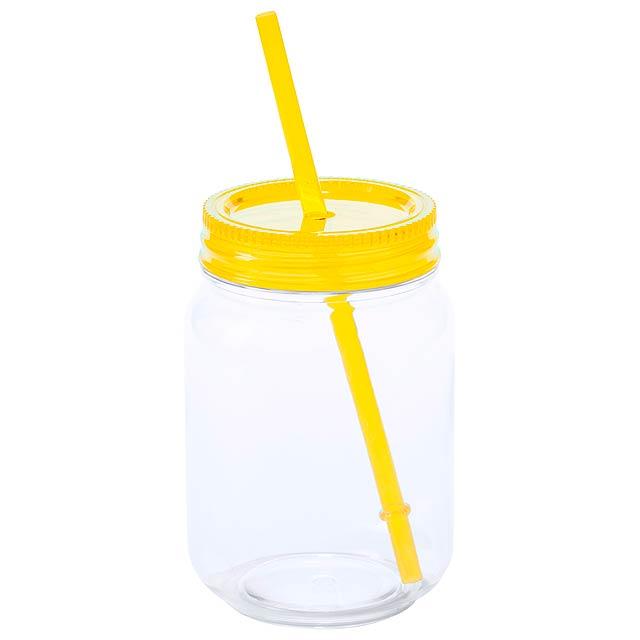 Sirex kelímek na pití - žlutá