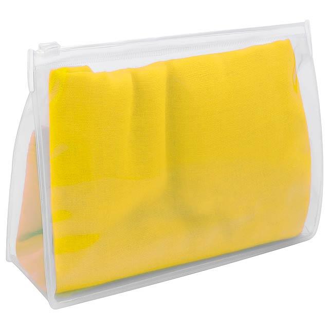 Rosix plážový šátek - žlutá