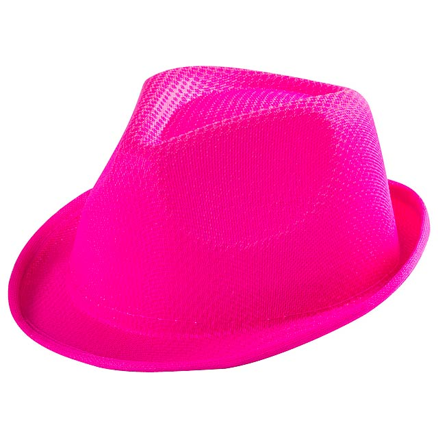 Tolvex klobouk - fuchsiová (tm. růžová)
