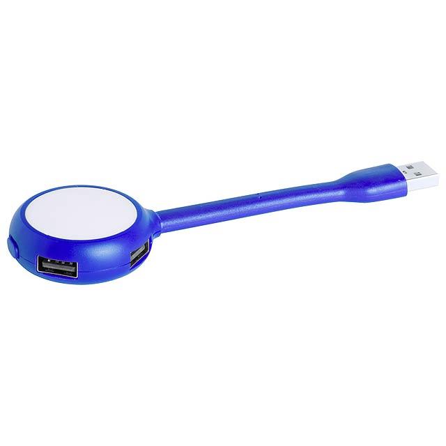 Ticaro USB hub - modrá