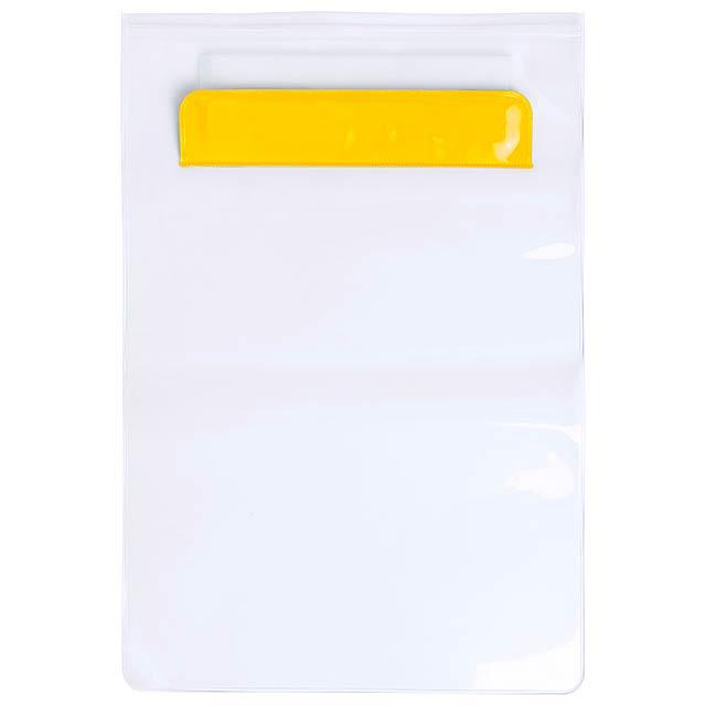 Kirot voděodolný obal na tablet - žlutá