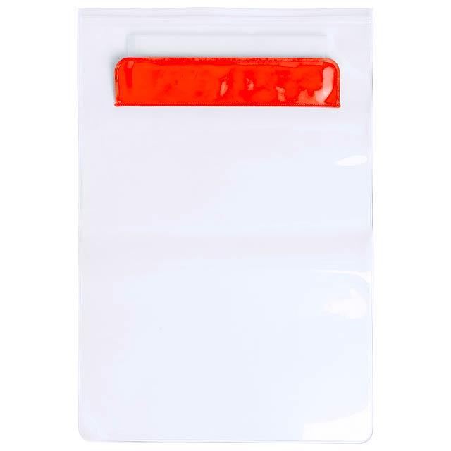 Kirot voděodolný obal na tablet - oranžová