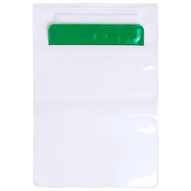 Kirot voděodolný obal na tablet - zelená