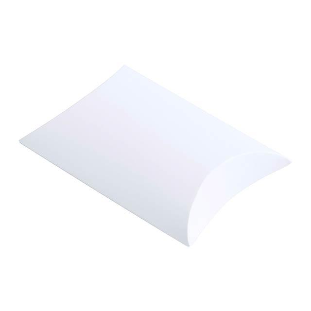 Yisan papírová dárková krabička - bílá