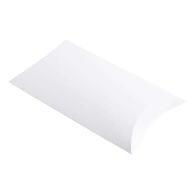 Dolcex papírová dárková krabička - bílá