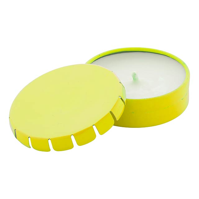 Klire svíčka - žlutá