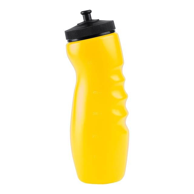 Doger sportovní láhev - žlutá