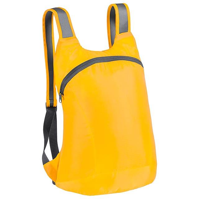 Ledor skládací batoh - žlutá