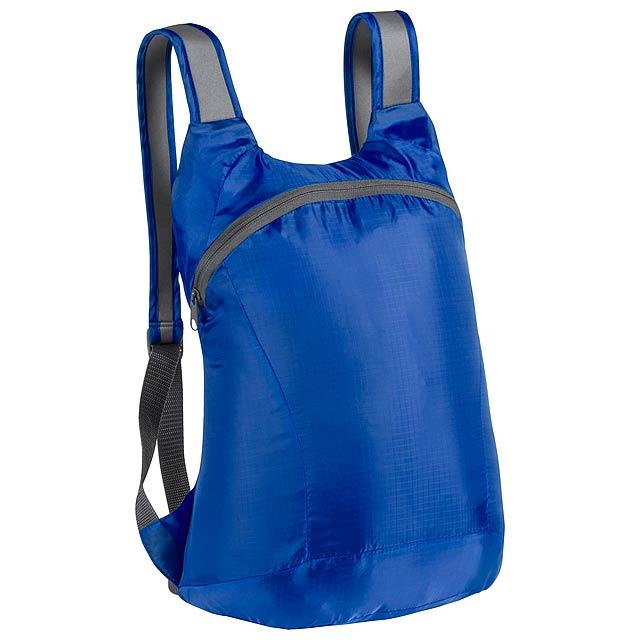 Ledor skládací batoh - modrá
