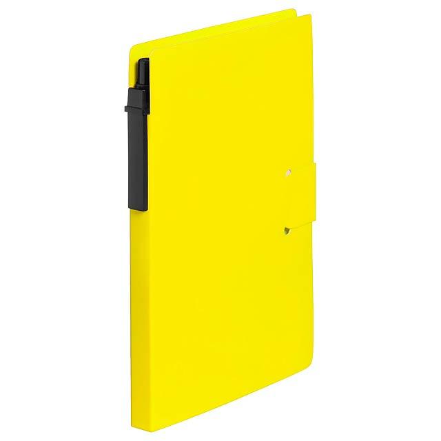 Prent blok - žlutá