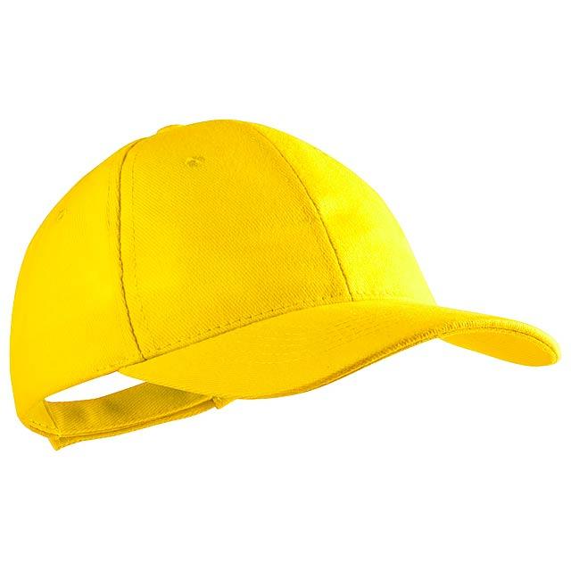 Rittel baseballová čepice - žlutá