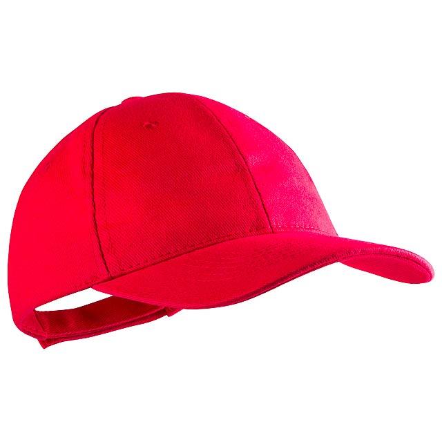 Rittel baseballová čepice - červená