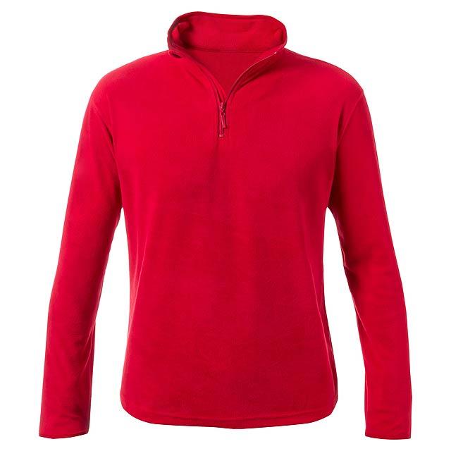 Peyten fleecová bunda - červená