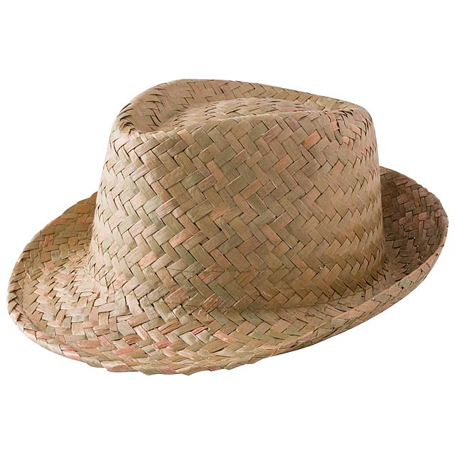 Zelio slámový klobouk - béžová