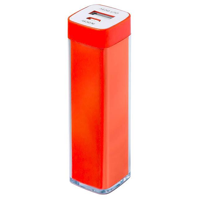 Sirouk USB power banka - oranžová