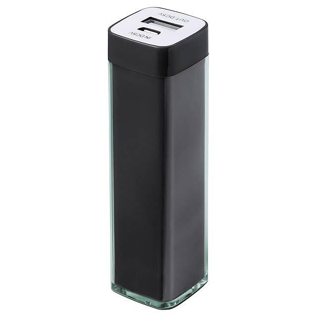 Sirouk USB power banka - černá