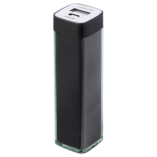 Sirouk USB power banka - čierna