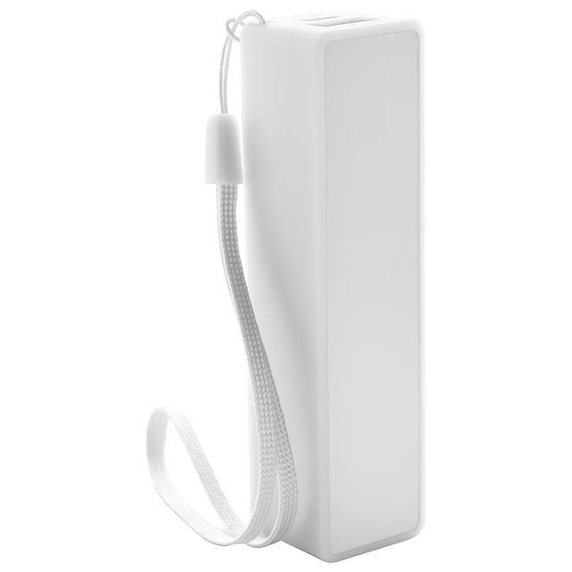 Keox USB power banka - bílá