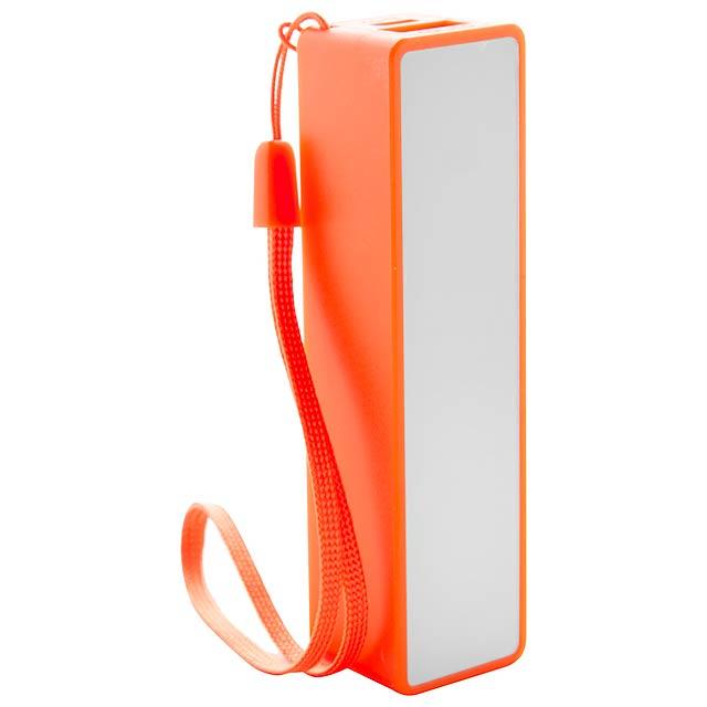 Keox USB power banka - oranžová