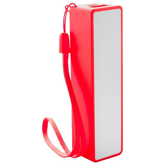 Keox USB power banka - červená