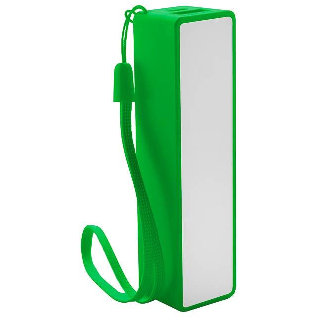 Keox USB power banka - zelená