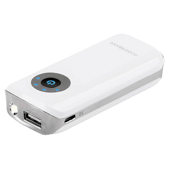 Harubax USB power banka - bílá