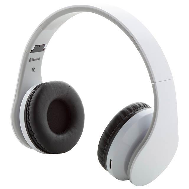 Darsy bluetooth sluchátka - bílá