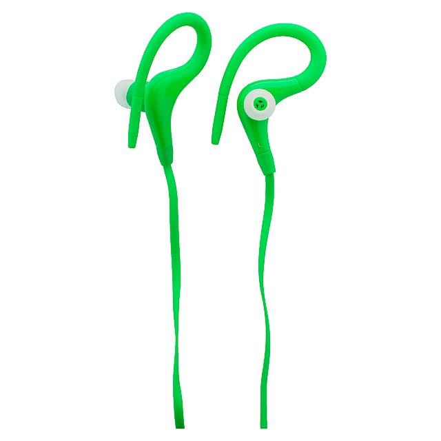 Roymed sluchátka do uší - zelená