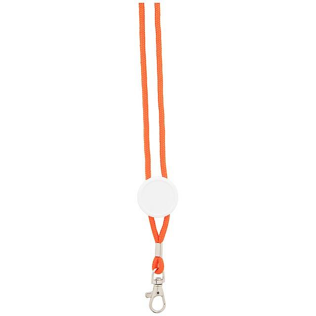 Perux lanyard - oranžová