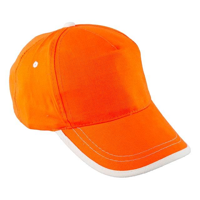 USA kšiltovka - oranžová