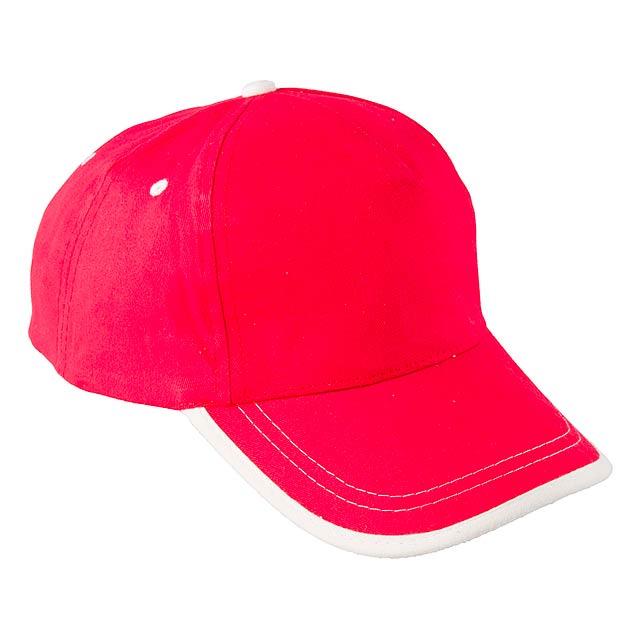 USA kšiltovka - červená