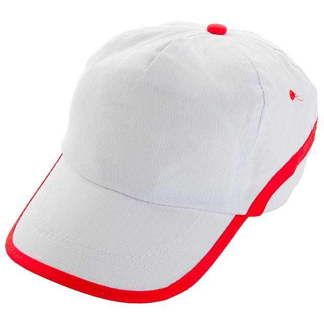 Line - Baseball Kappe - Weiß