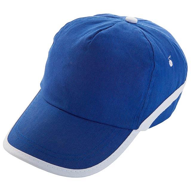 Line - baseball cap - blue
