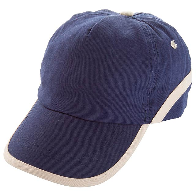 Line - Baseball Kappe - blau