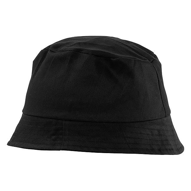 Marvin plážový klobouček - černá