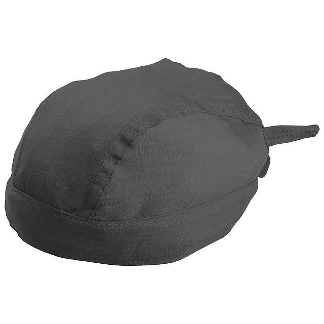 2c84a0a296a Šátek na hlavu - černá