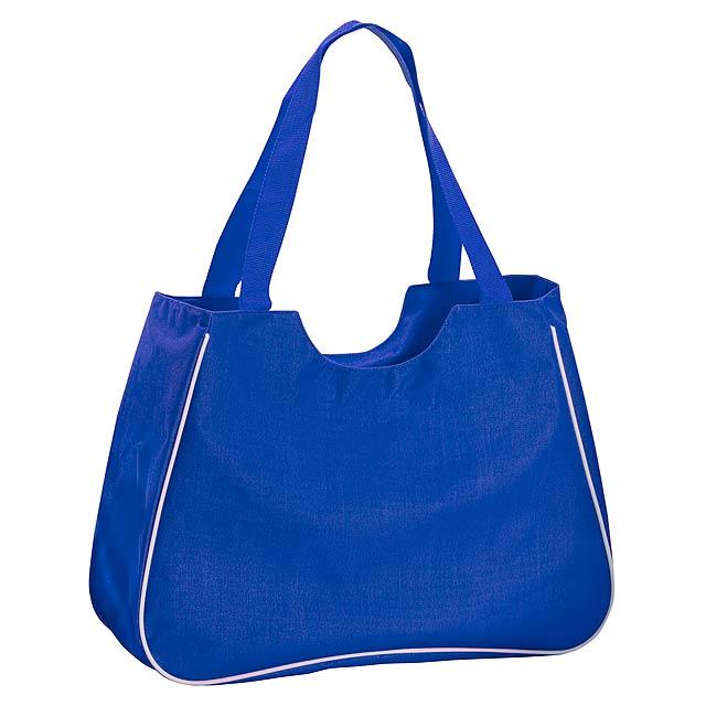 Maxi plážová taška - modrá