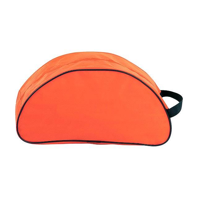 Shoe taška na boty - oranžová