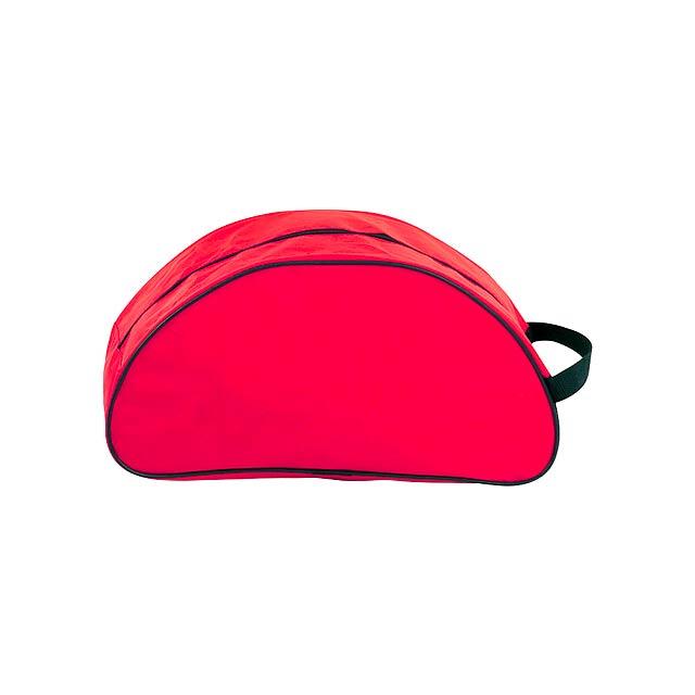 Shoe taška na boty - červená