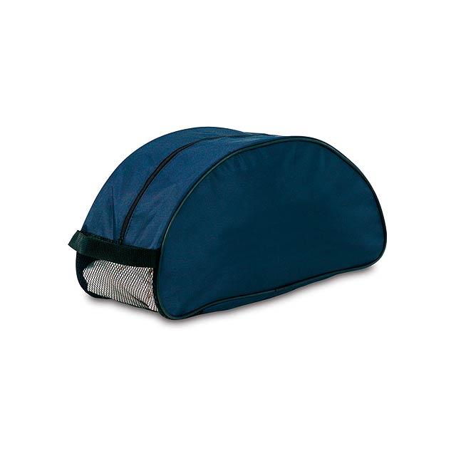 Shoe taška na boty - modrá
