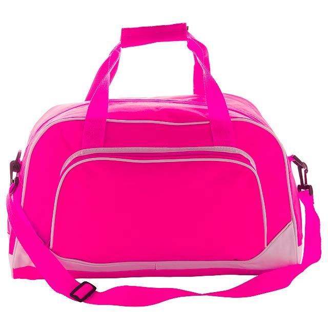 Novo sportovní taška - fuchsiová (tm. růžová)